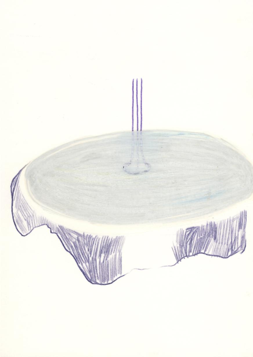 Der Tisch, 2015, Petra Schweifer